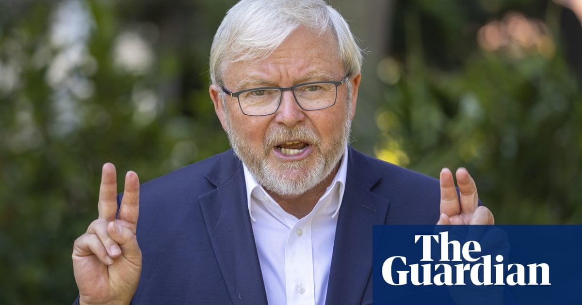 Kevin Rudd says Sky News is using Fox model to radicalise politics in Australia