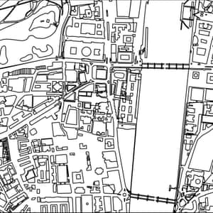 Quiz: can you identify the city from the blank street map