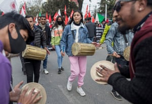 Anti-government protest in Kathmandu