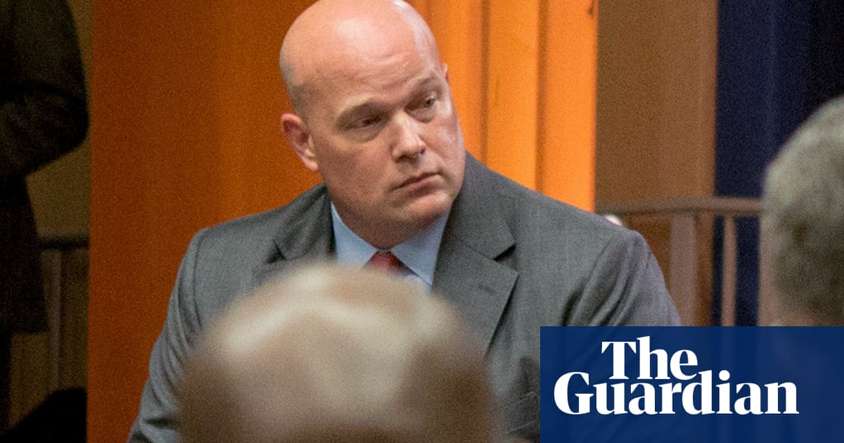 Trump's acting attorney general was part of firm US accused of vast scam