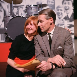 Martin and Cilla Black, another of the talents with whom he worked closely, in 1965.