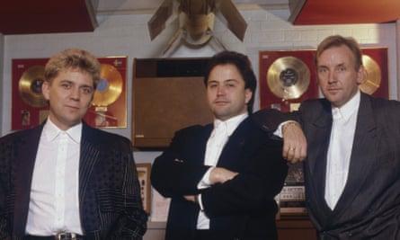 Stock, Aitken and Waterman … Mike Stock, Matt Aitken and Pete Waterman at their peak in 1988.