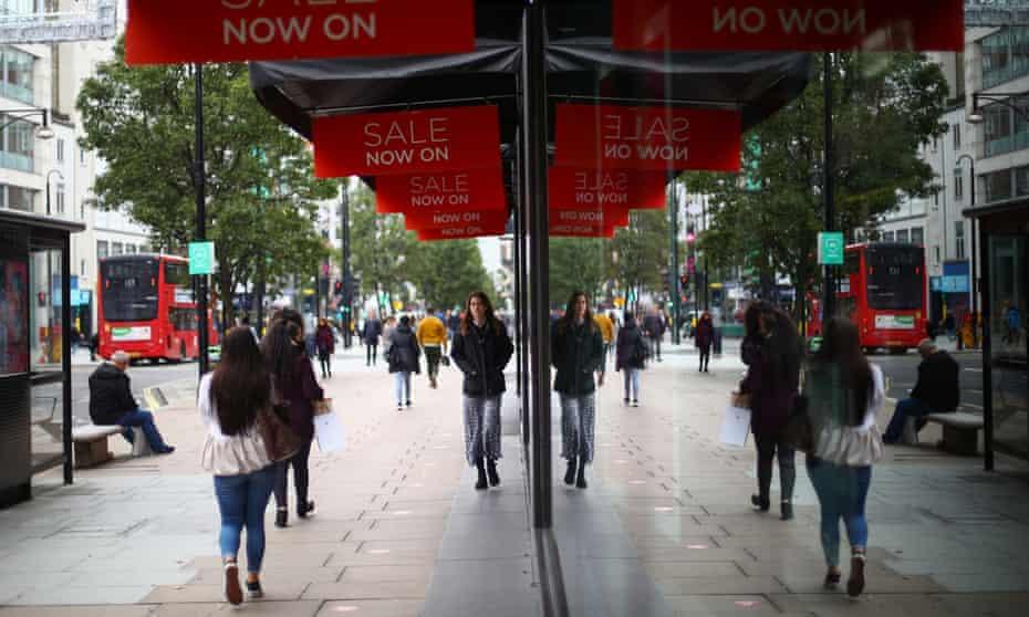 Shops in Oxford Street