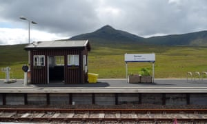 Corrour, on Rannoch Moor, can only be reached by rail, as there is no road in the area.