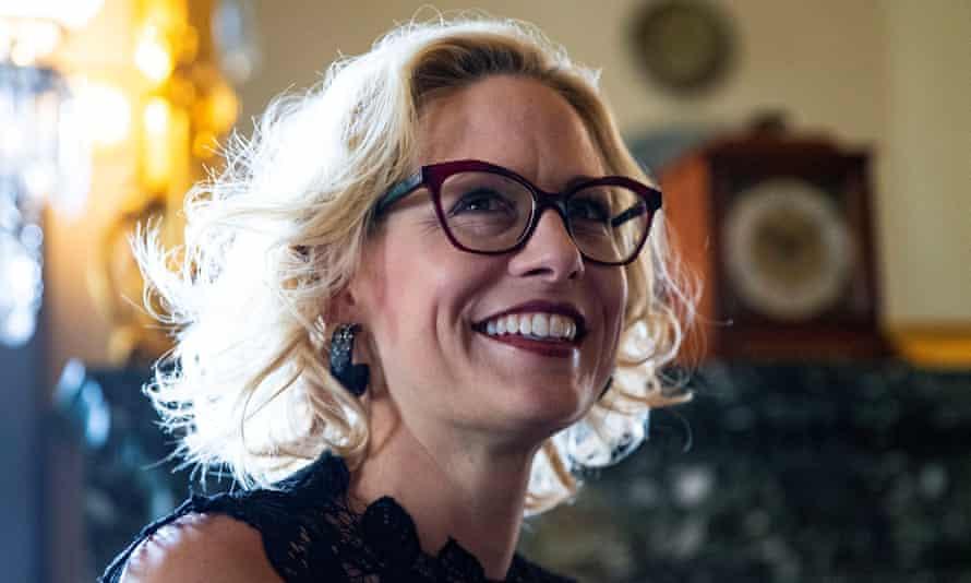 Kyrsten Sinema in Washington DC in November 2018.