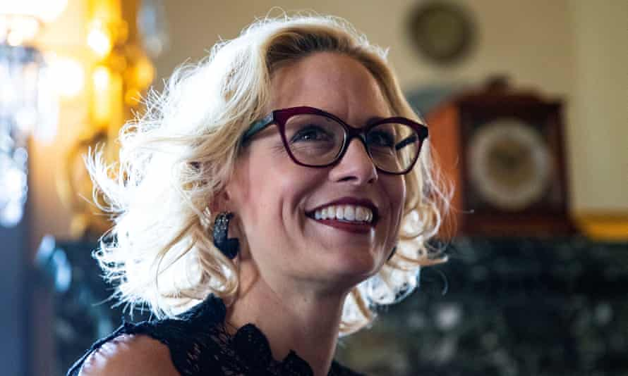 Newly elected senator Krysten Sinema became the first Democrat to win an Arizona senate seat in 30 years.