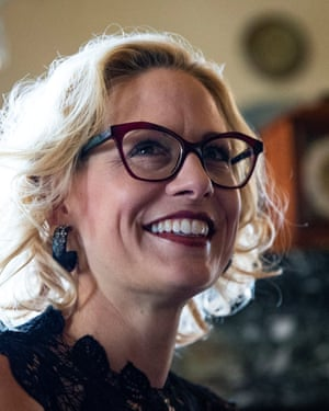 Democratic Senator Kyrsten Sinema was the first Democrat in more than 30 years to win a US Senate seat in Arizona.