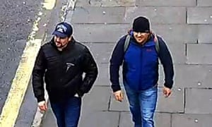 Ruslan Boshirov and Alexander Petrov travelled to the UK in March 2018.