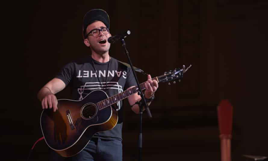 Sufjan Stevens performing in 2017.