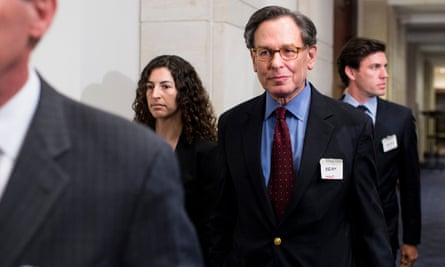 Sidney Blumenthal arrives to appear before the House select committee on Benghazi at the US Capitol in June 2015.