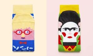 Art socks, ChattyFeet, £8 a pair, chattyfeet.com