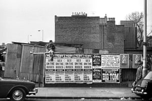 Martinson grew up in Hackney in the 1970s and began taking photos while still at school. His earliest photographs were taken around Brick Lane, Ridley Road and the Dalston Waste markets.