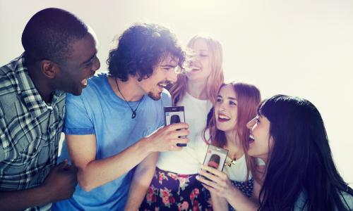 Music titles like Singstar show that games can be social and inclusive