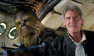 Chewbacca and Han Solo from 'Star Wars: Episode VII'. The best case made by climate contrarian scientists amounts to little more than 'the Chewbacca defense'.
