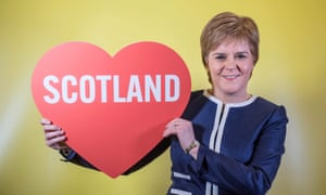 Nicola Sturgeon at the SNP spring conference in March 2017