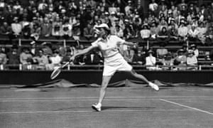 """American tennis player Alice Marble, a fan of tailored shorts and crewnecks, was often pigeonholed. As Life magazine wrote in 1930: """"Newspaper writers like to think of Alice Marble as a glamor girl. They prattle about her beautiful clothes …They call her the 'streamlined Venus of the tennis courts'. All this is nonsense. She is a pretty girl who looks well in shorts. Her arms and legs are too long and muscular, and she plays too much of a slambang game of tennis to be glamorous."""""""