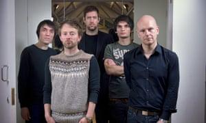 Radiohead: (from left) Colin Greenwood, Thom Yorke, Ed O'Brien, Jonny Greenwood and Philip Selway