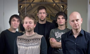 'Ruined my Christmas' ... Radiohead in Oxford, November 2007, three months after Guy Hands's Terra Firma bought EMI.