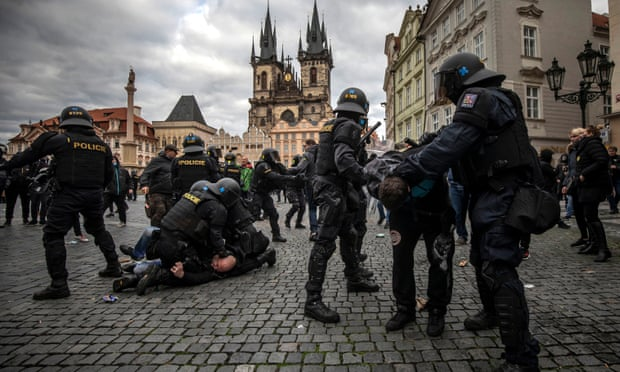 Protest Erupt in Europe to Stop Lockdowns