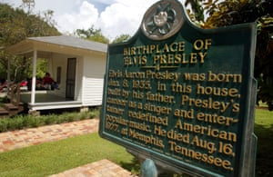 The tourist attraction and two-room house where Elvis Presley was born back in 1935. Based in Tupelo, Mississippi, the King - then known as Baby Kingy Wingy - spent the first 13 years of his life living in various homes in the area before moving to Memphis.