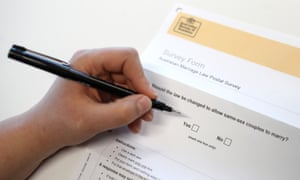 Same-Sex Marriage Postal Survey