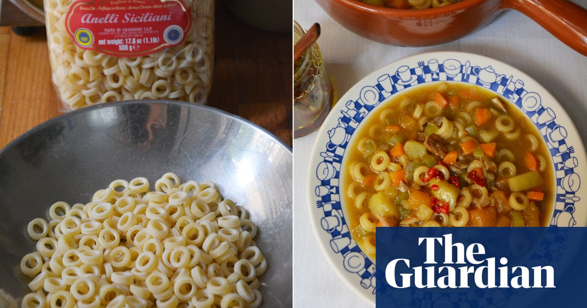 Rachel Roddy's recipe for autumn minestrone with anelli