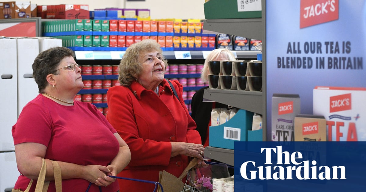 Like shopping 30 years ago: first Jack's customers sample new store   Business   The Guardian