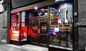 The Dusk til Pawn bar in Manchester's Northern Quarter