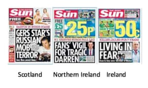 "Three Sun editions that did not ""be-leave""."