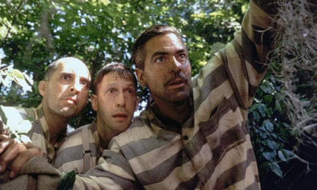 Band on the run: as an escaped convict in O Brother, Where Art Thou? from 2000.