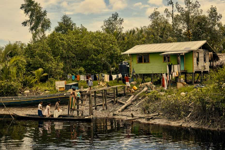The Indigenous communities that rely heavily on fishing could be devastated in the event of a major spill.
