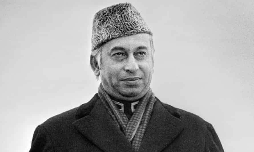 Zulfikar Ali Bhutto, 1976.