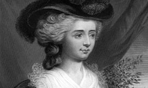 Engraving of Fanny Burney, after a painting by Edward Francisco Burney.