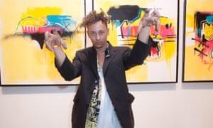 Brisbane street artist Anthony Lister