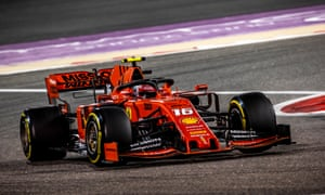 Charles Leclerc was hugely impressive in Bahrain before a cylinder problem cost him victory