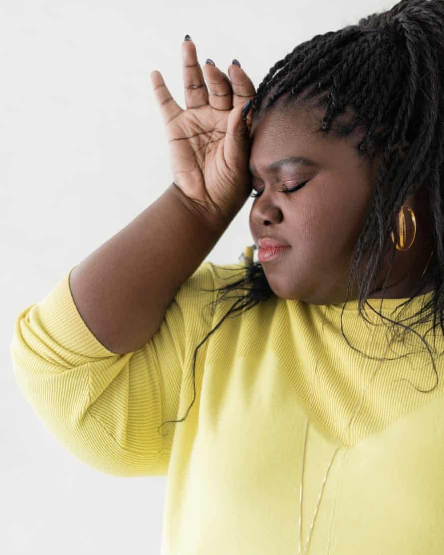 'There's a school of thought that, as a black woman, you should be superhuman': Gabourey Sidibe.