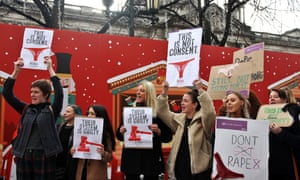 Protests followed the acquittal of Ulster rugby players Paddy Jackson and Stuart for rape in March in Belfast.