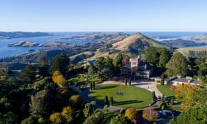 Larnach Castle on the ridge of the Otago peninsula near Dunedin