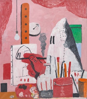 The Studio by Philip Guston