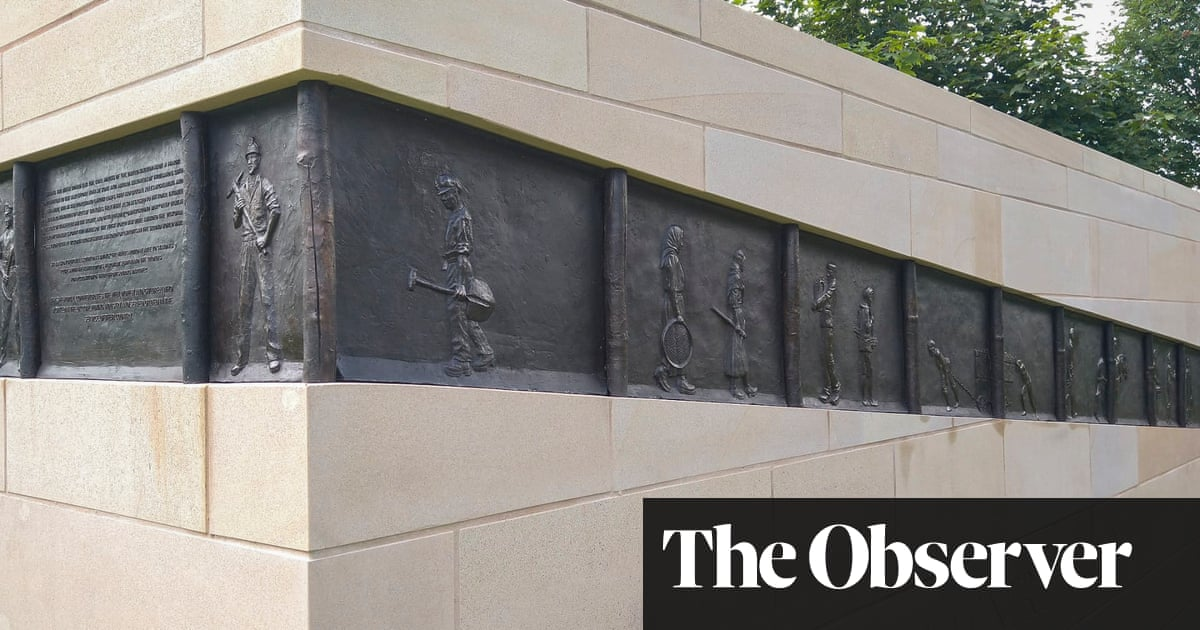 In the darkness and dust: memorial recalls the hard history of British mining