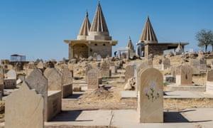 Yazidi gravestones