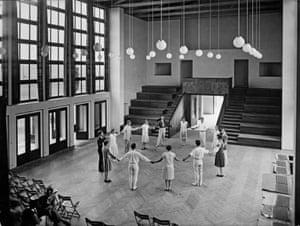 Musikheim, main hall, Frankfurt/Oder, 1929