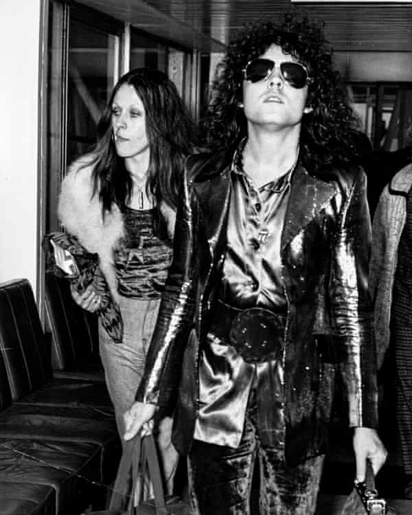 Bolan in London in the mid 70s
