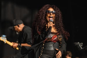 Chaka Khan, who delivered a mix of deep cuts and greatest hits