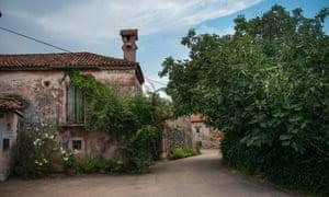 A rural hamlet.