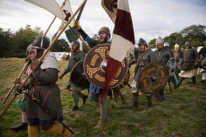 Battle of Hastings revisited: hundreds re-enact conflict of