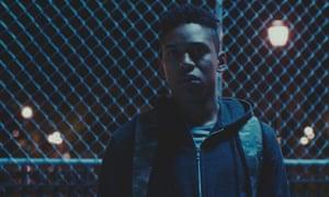 Unreconciled anger … Kelvin Harrison Jr as Zee in Monsters and Men.