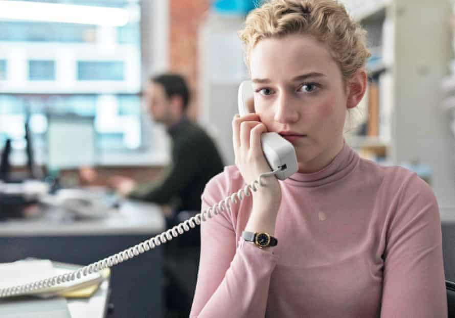Julia Garner in The Assistant.