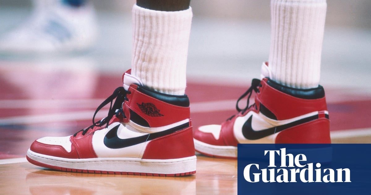 Michael Jordans first-ever Air Jordan sneakers sell for $560,000 at auction