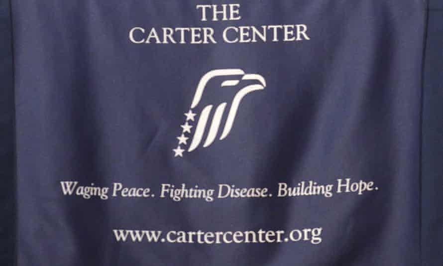 The Carter Center has been accused of failing to support an aid worker